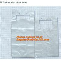 China Epi biodegradeable colored draw string plastic garbage bags, trash bags, refuse sacks, bin factory