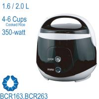 1.6/2.0L 4-6 cups Compact Rice Cooker fit for small family,student