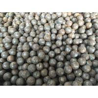 Buy cheap Grade 45 , 60Mn , B2 Forged Steel Ball 20mm to 110mm For Grinding Mine and Ore from Wholesalers