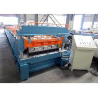 Buy cheap Mexico Market Width1219mm Floor Deck Roll Forming Machine 440v / 60HZ from Wholesalers