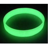 Buy cheap custom glow in the dark silicone bracelet ,luminous silicone wristband price from Wholesalers