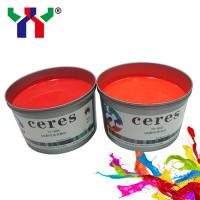 Buy cheap Ceres YT- 805 Red Spot Pantone ECO-Friendly Fluorescent Offset Printing Ink from Wholesalers