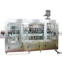 China Automatic Beer Glass Bottling Machine PLC Industrial Computers Control factory