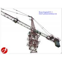 Quality self erecting type QTZ80-5610 fixed tower crane spare parts wholesale