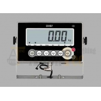 China Stainless Steel Digital Scale Indicator,IP65 Waterproof Weighing Indicator with Extra-large LCD Display factory