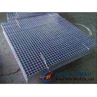 China Press-locked Steel Grating, Smooth and Serrated Surface, Integral Structure factory