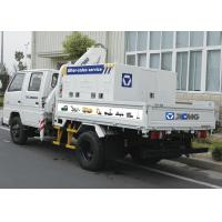 China Durable 2T Hydraulic Driver Lorry Mounted Crane, Cargo Crane Truck factory