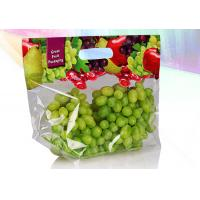 Eco Friendly Stand Up Zipper Bags Zip Up Pouch Good Sealing Performance