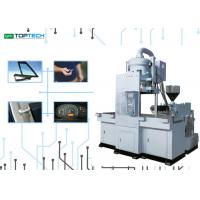 Easy Operating Vertical Injection Molding Machine With Transfer Moving Molding Function