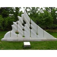 China White marble sculptures of Morden city for park factory