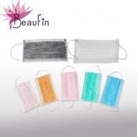 Quality N95 3-ply Disposable nonwoven face mask/Face mask tie on for medical&beauty use wholesale