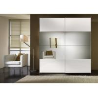 Buy cheap Durable High Gloss Bedroom Furniture With MDF Mirror Sliding Door Wardrobe from Wholesalers