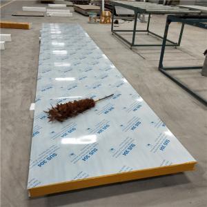 China 60kg 75mm aluminium steel sheet modified eps sandwich ceiling boards factory