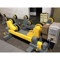Buy cheap 10T Self Aligning Pipe Wheels Rollers / Welding Turning Rolls With Moving Wheels from wholesalers