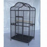 China Pet Cage with Pb-free/UV-resistant Powder Coating and 1.5-inch Swivel Wheel factory