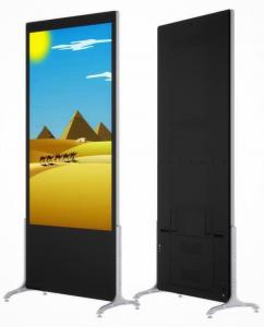 China 1920x1080 110W 450cd/m2 Floor Standing Digital Signage For Hotel factory