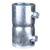 China Zinc Electro - Plated EMT To Rigid Conduit Fittings , Steel EMT Tubing Connectors factory