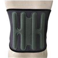 China Breathable Elastic Back Spine Brace With Removable Heating Cooling Gel Pack on sale