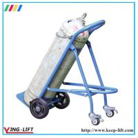 Buy cheap Solid Rubber Wheels Hand Trolley For Gas Cylinder TY120 from Wholesalers
