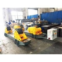 Buy cheap 120 Ton Pressure Vessel Tank Turning Rolls Conventional Bolt Adjustable Steel Rollers from Wholesalers