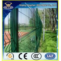 High quality green welded mesh 3D Curved fence panels for garden fence