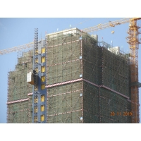 China Construction Site 2000KG Cage Rack & Pinion Man Material Hoist factory