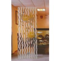 China Clear Decorative Glass Panels For Interior Glass Screens , Partitions , 1100x1954mm on sale