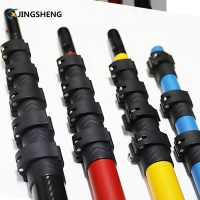 China 16ft 20ft Telescoping Carbon Fiber Extension Pole factory