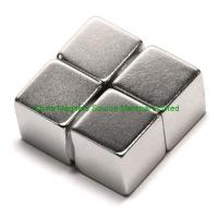 China 1 inch (25.4mm) cube N50 ndfeb magnet factory