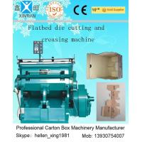 Buy cheap Die-Cutting And Creasing Machine / Slotting Machinery Automatic Carton Machine from Wholesalers