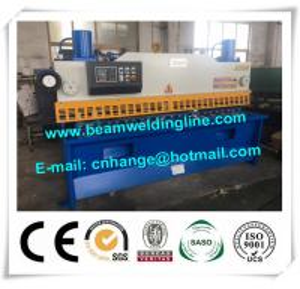 China Metal Sheet Hydraulic Shearing Machine , Guillotine Type Shearing Machine And Cutting factory