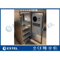 Buy cheap 304 Stainless Steel Outdoor Telecom Cabinet IP55 Waterproof Corrosion Resistance from wholesalers
