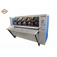 China Auto Feeding Thin Blade Slitter Scorer Machine For Corrugated Paper Easy Operation factory