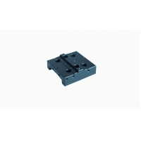 Buy cheap Cnc Milling Aluminum Square Motor Mounting Base Plate Black Anodized from wholesalers