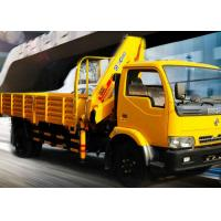 China Durable 4 Ton Lorry Mounted Crane Architecture Truck ,Driven By Hydraulic factory