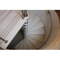 Buy cheap timber oak trade metal spiral staircase price from Wholesalers