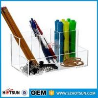 China Hot Selling 2016 clear acrylic Desk Organizer Stationary Products factory