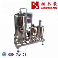 China High Efficiency Beer Filtration Equipment , Beer Filling Machine SUS 304 Material factory