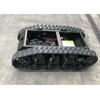China Customized Size Rubber Tracked Chassis For All Terrain Vehicle Load Weight 300kg factory