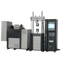 China PLW-100 Electronic Hydraulic Servo Fatigue Testing Machine, High-Stiffness Frame factory