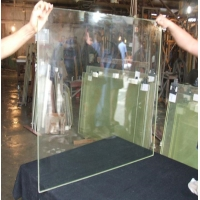 China Lead glass for X-ray protection of orthopedic X-ray room custom tempered glass factory