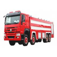 China Sinotruk HOWO 8x4 Fire Fighting Truck 20m3 Foam And Water Real Fire Trucks factory