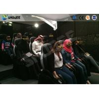 China Motion Cinema 5D Simulation System Customized Size 7100 X 3100 X 3000 Mm 9 Seats factory