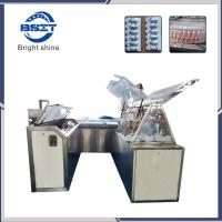 China High Quality Control Anti Fungal Vaginal Suppository Filling Sealing Cutting Packing Machine factory
