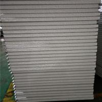 China 0.326mm steel sheet 50mm insulated eps sandwich panel 11900x1150mm for worker camp factory