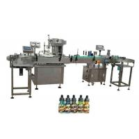 China Two Heads Fully Automatic Bottle Filling Machines For 30ml Amber Bottles factory
