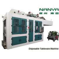 China Automatic Biodegradable Bagasse Pulp Molding Equipment / Plate Making Machine on sale