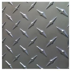 China Building Frame 3003 3A21 Diamond Pattern Aluminum Sheet factory