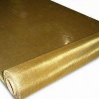 China 200mesh Brass Wire Mesh, 0.05mm Wire, 1.0m Width, Used for Liquid Filtration factory