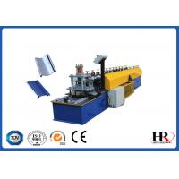 China 0.6 - 0.8mm Thickness Metal Shutter Roll Forming Machine With 180mm Feeding Coil Width on sale